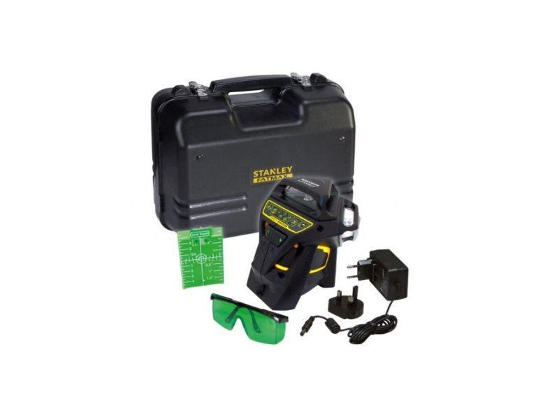Fatmax® linkový laser 3 x 360° s integrovanou Li-Ion batériou, zelený