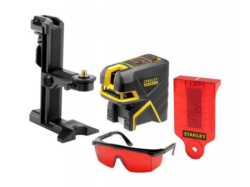 Fatmax® 5-bodový laser s projekciou kríža, červený
