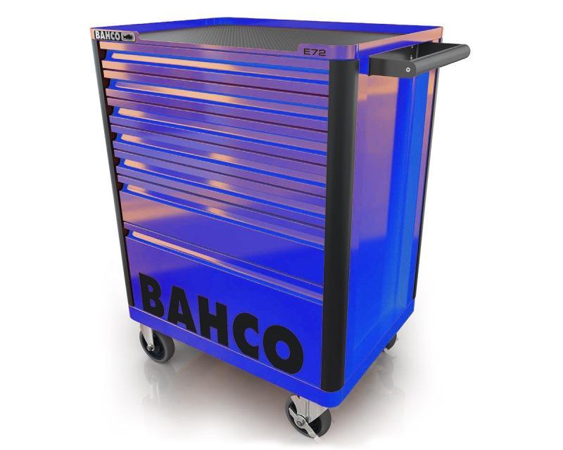 Vozík na náradie Campaign so 7-zásuvkami, modrý 1472K7BLUE