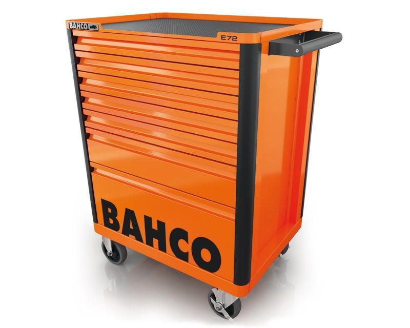 Vozík na náradie Campaign so 7-zásuvkami, oranžový 1472K7