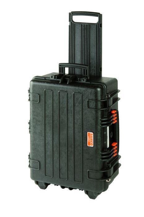Húževnatý pevný kufor na kolieskach 4750RCHDW02
