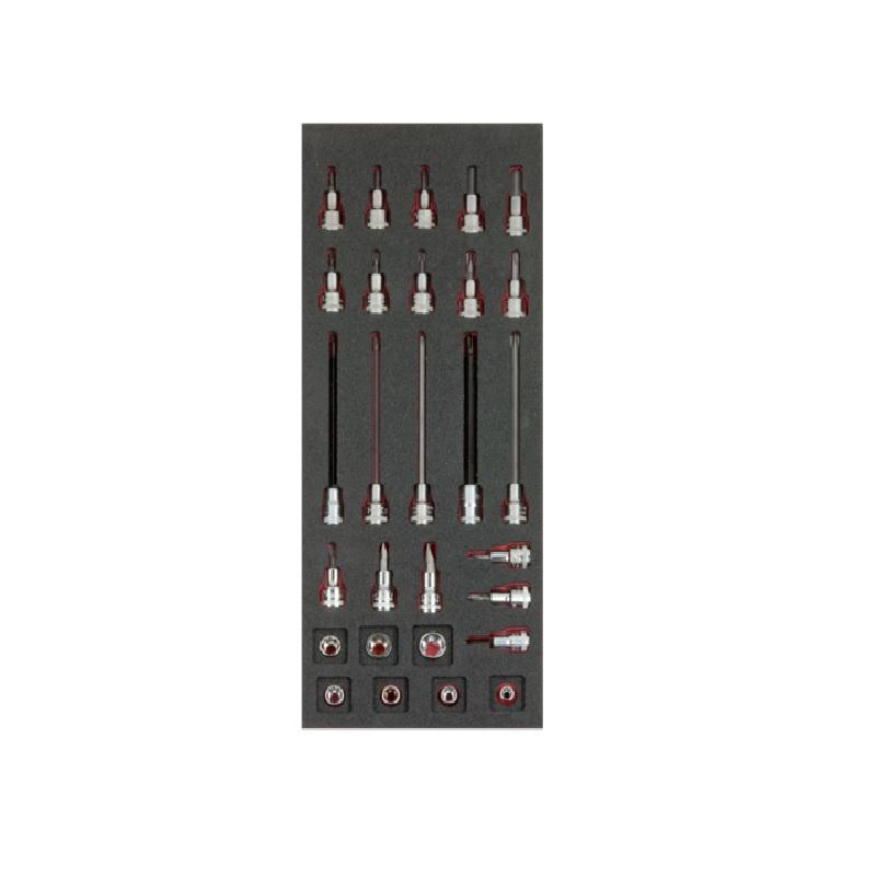 Penový modul s náradím 28ks 1/3  FF1E2105