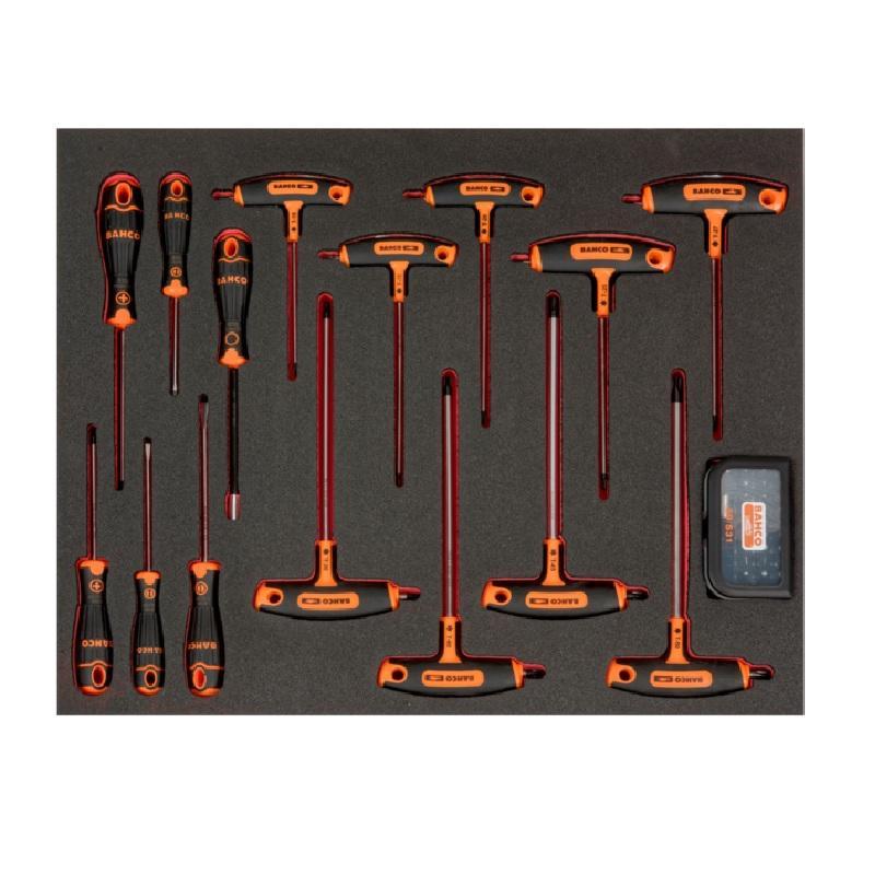 Penový modul s náradím 46ks FF1A71