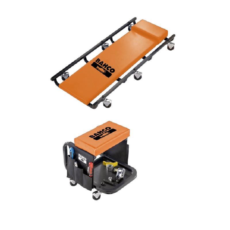 Sada s montážnym vozíkom a sedačkou BLE304