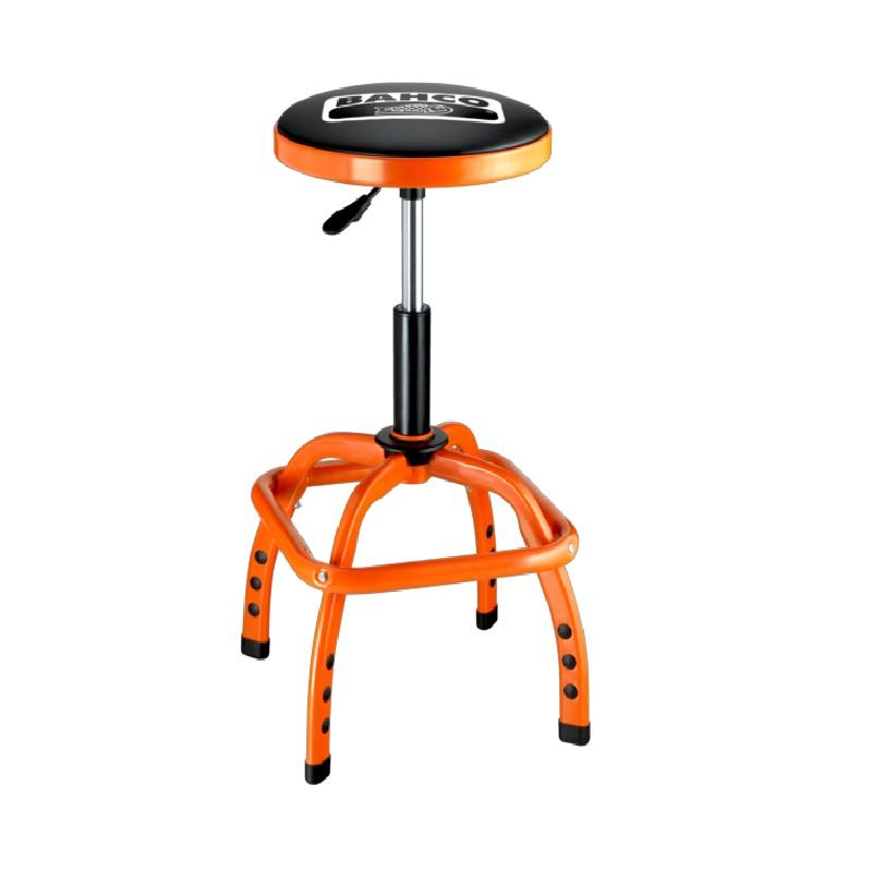 Odpružená pneumatická dielenská stolička BLE305