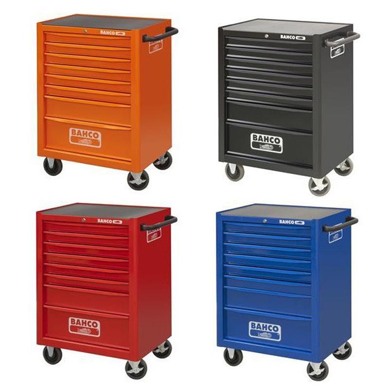 Vozík na náradie Campaign s 8-zásuvkami, oranžový 1472K8