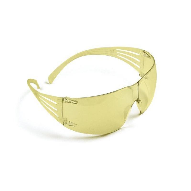SF203AF-EU, Žlté polykarbonátové okuliare SecureFit, povrch AS/AF