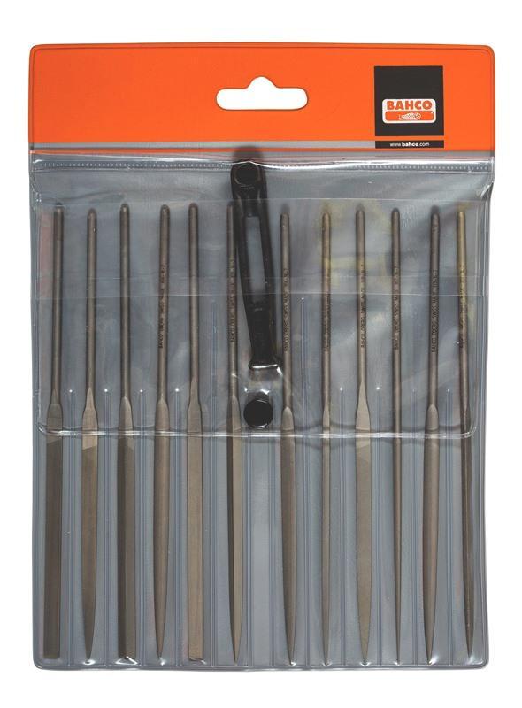 Sada 12 ks ihlových pilníkov 2-472-16-2-0