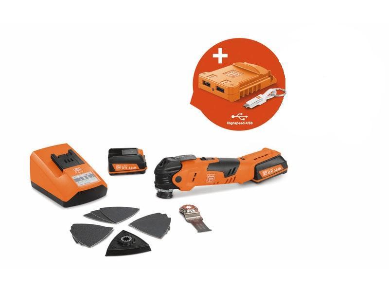 Akumulátorové multifunkčné náradie MultiTalent AFMT 12 QSL USB Edition