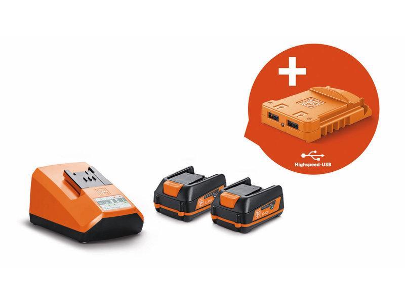 Štartovacia sada akumulátorov 12V/3Ah USB Edition