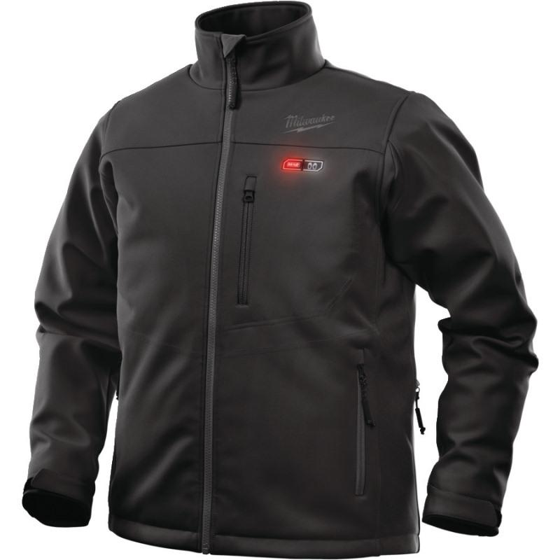 Vyhrievaná bunda Premium čierna M12 HJ BL4-0 (2XL)