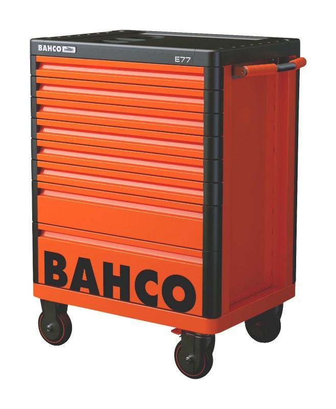 Premium Mobilný vozík na náradie s 8-zásuvkami, oranžový 1477K8