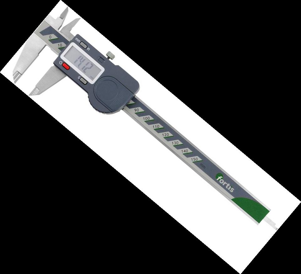 Posuvné meradlo digitálny 200 / 0,01mm  FORTIS