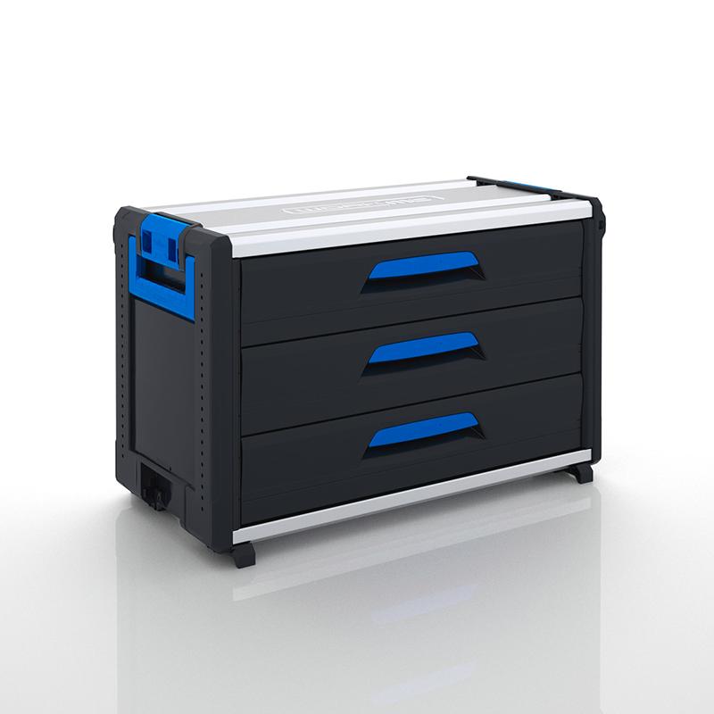 WorkMo modul s 3 zásuvkami WO 34-500 SBL8