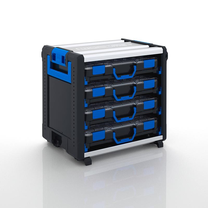 WokMo modul s koľajnicami a BOXXami WO 24-500 STB 4TB H