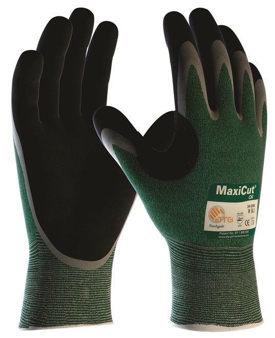 Pracovné rukavice ATG MaxiCut Oil 44-305 , veľ.11