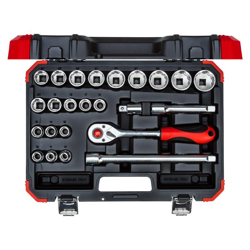 """Sada nástrčných kľúčov 1/2"""" 24-dielna 10-32mm"""