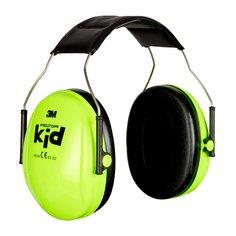 Detský slúchadlový chránič sluchu 3M PELTOR Kid Neon Green H510AK-442-GB