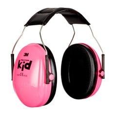 Detský slúchadlový chránič sluchu 3M PELTOR Kid Neon Pink H510AK-442-RE