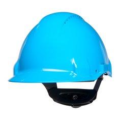 G3000NUV-BB, Modrá prilba s ventiláciou, plastové potítko, koliesko, 1 /  EA