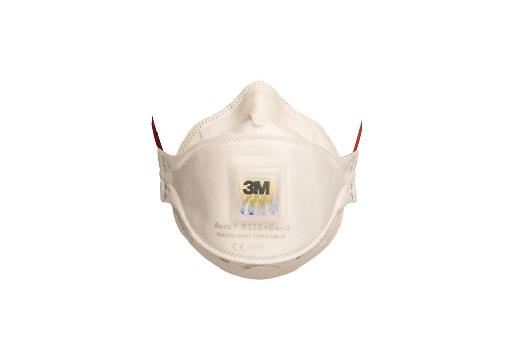 9332+ Respirátor Aura FFP3, s výdychovým ventilom