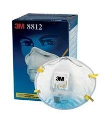 8812 Respirátor prachový s výdychovým ventilom