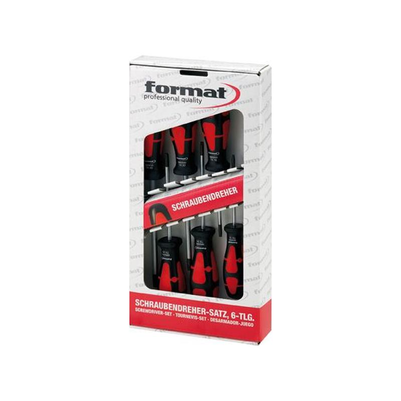 Sada šrobovákov TORX 6 ks FORMAT